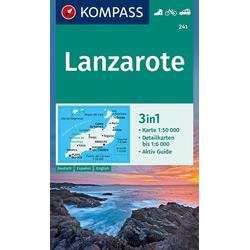 Lanzarote 1:50 000