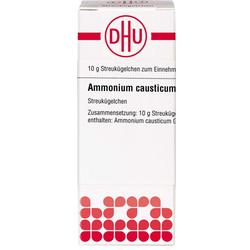 AMMONIUM CAUSTICUM D 12 Globuli 10 g