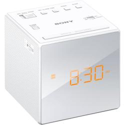 Sony Radio Uhrenradio ICF-C1B weiß