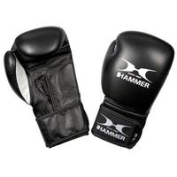 Hammer Boxhandschuhe Premium Fitness schwarz/weiß 10 oz