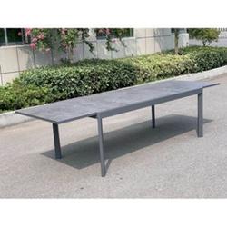 Alu Gartentisch 300x100cm Terrassentisch Balkontisch Esstisch Gartenmöbel Tisch