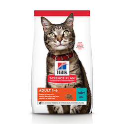 Hill's Adult mit Thunfisch Katzenfutter 10 kg