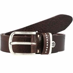 b.belt Fashion Basics Cleo Gürtel Leder dunkelbraun 90 cm