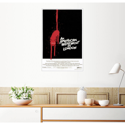 Posterlounge Wandbild, American Werewolf 100 cm x 150 cm