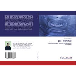 See - Minimal als Buch von Kestutis Lupeikis