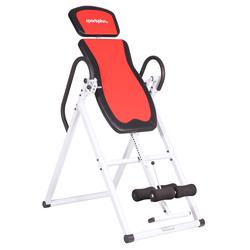 SportPlus Rückentrainer Inversion Table SP-INV-010 weiß Fitness Ausrüstung Sportarten Trainingsbank