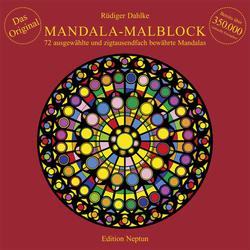 Mandala-Malblock als Buch von Rüdiger Dahlke