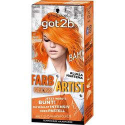 Schwarzkopf Got2b Neons Farb Artist Haarfarbe 108 Neon Orange 80ml