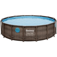 Bestway Power Steel Swim Vista Series Frame Pool rund