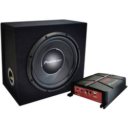 Pioneer GXT-3730B Auto-Subwoofer-Chassis 30cm 1400W 4Ω