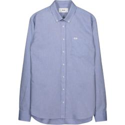 Makia - Flagship Shirt Blue - Hemden - Größe: S