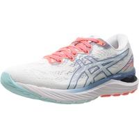 ASICS Gel-Cumulus 23 Laufschuhe Damen 1012B159-960_40,5 Running Shoes, White Grey Floss, 40.5