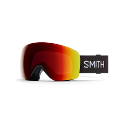 Smith - Skyline Black Chromapop Photochromic Red Mirror - Skibrillen