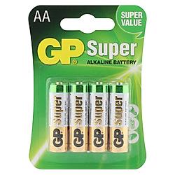 GP Batterien Alkaline AA  4er Pack