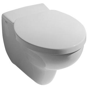 Keramag / Geberit Cleo WC-Sitz zu Wand-WC 205600 und 205900 - Weiß (Alpin) - 573660000