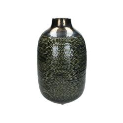 Vase CERAMIC grün(DH 22x36 cm)