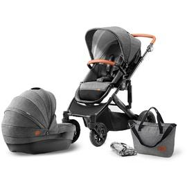 KinderKraft Prime 2 in 1 grey