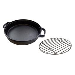 CAMPINGAZ Culinary Modular Pfanne mit Edelstahlrost Schwarz