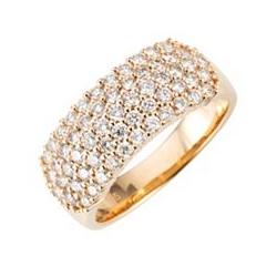 DIAMOUR Ring 59 Brillanten ca. 1,00ct Lupenrein Gold 585