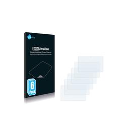 Savvies Schutzfolie für Karbonn Smart Tab 1, (6 Stück), Folie Schutzfolie klar