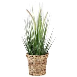 Kunstpflanze Gras, Höhe 90 cm