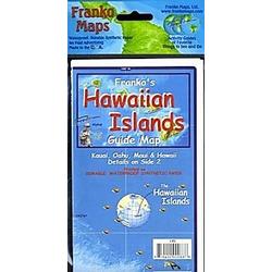 Franko Maps Franko's Hawaiian Islands Guide Map - Buch