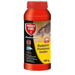 Bayer Ratten Portionsköder Rodicum 500g Rattengift