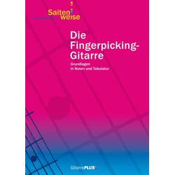 Die Fingerpicking-Gitarre als Buch von Lino Battiston