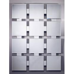 Casa Padrino Luxus Spiegel / Wandspiegel 90 x H. 122 cm - Luxus Qualität
