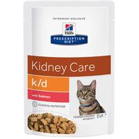 Hill's Prescription Diet Feline k/d Lachs 12 x 85 g