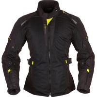 Modeka Upswing, Damen Textiljacke, schwarz-gelb, Größe 34