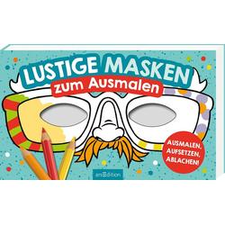 Lustige Masken als Buch von