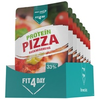 Fit4Day Protein Pizza Backmischung Pulver 8 x 250 g