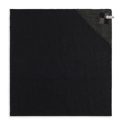 Knit Factory Geschirrtuch Geschirrtuch Block Schwarz/Khaki, (Mode)
