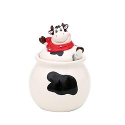 Dekohelden24 Zuckerdose Keramik Zuckerdose Kuh., Keramik, (1-tlg)