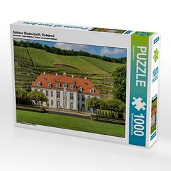 Schloss Wackerbarth, Radebeul Lege-Größe 64 x 48 cm Foto-Puzzle Bild von Gunter Kirsch Puzzle