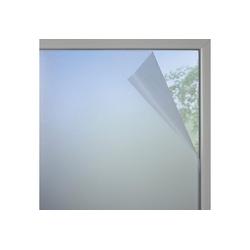 Fensterfolie, GARDINIA, halbtransparent, glatt, Fensterfolie Milchglas-optik 90 cm x 200 cm