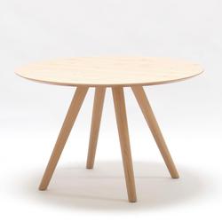 SCHÖNER WOHNEN-Kollektion Esstisch Round beige Esstische rund oval Tische Tisch