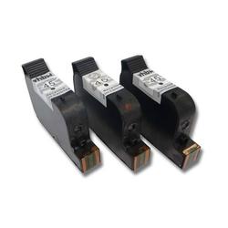 vhbw 3x kompatible Ersatz Tintenpatrone Druckerpatrone Set für Drucker HP PSC 500, 750, 950