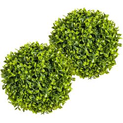 Kunstpflanze Buchsbaumkugel Buchsbaum, Creativ green, Höhe 20 cm