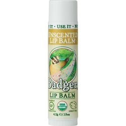 Badger Lip Balm - Unscented 4.2g