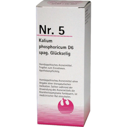 NR.5 Kalium Phosporicum D 6 Spag.Glückselig