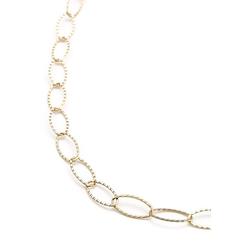 Heideman Kette mit Anhänger Collier, Perlenkette zur Hochzeit oder Brautschmuck goldfarben 45cm