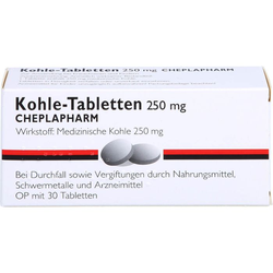 KOHLE Tabletten 30 St.