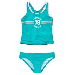 KangaROOS Tankini Sporty mit sportlichem Frontdruck blau 158/164