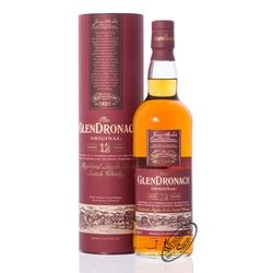 Glendronach 12 YO Original Whisky 43% vol. 0,70l