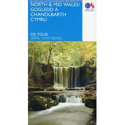 Wales North Gogledd A Chanolbarth Cymru 1:175 000