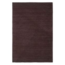 Row Teppich 200 x 300 cm Dunkelbraun  Northern