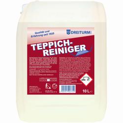 Dreiturm TEPPICHREINIGER, für das Shampoonier-Verfahren, 10 l - Kanister