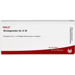 BINDEGEWEBE GL D 30 Ampullen 10 ml